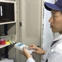 製品品質について「納品時の現地での調整」|電車無線や遠隔制御機器を作る大日電子